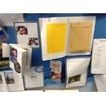 Our display of the amazing summer diaries