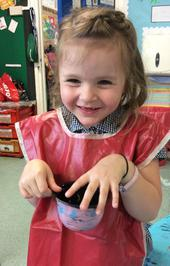 Enterprise Pots - the children have been decorating pots as part of their Enterprise project 20