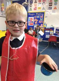 Enterprise Pots - the children have been decorating pots as part of their Enterprise project 18