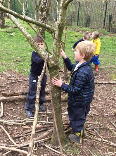 Engage and Excite Day at Forest School 11