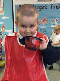 Enterprise Pots - the children have been decorating pots as part of their Enterprise project 19