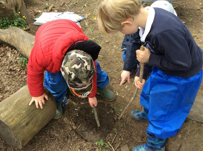Engage and Excite Day at Forest School 4