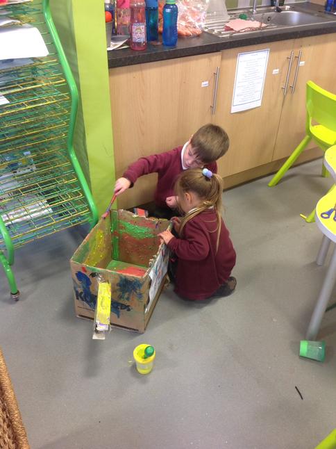 Working together to make fantastic models.