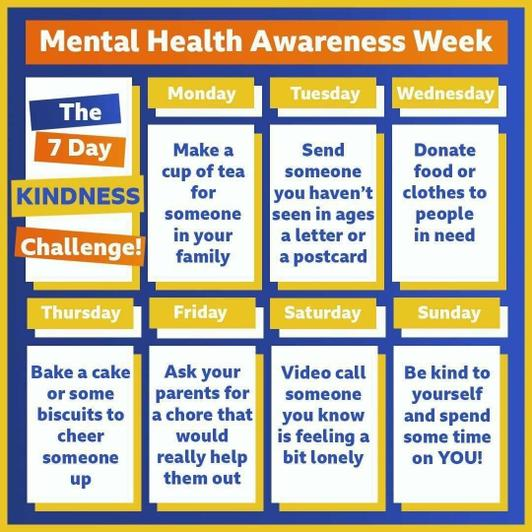 7 Day Kindness Challenge