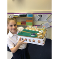 Model of an allotment-homework piece!