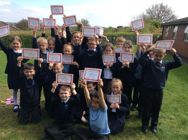 Creative homework certificates!