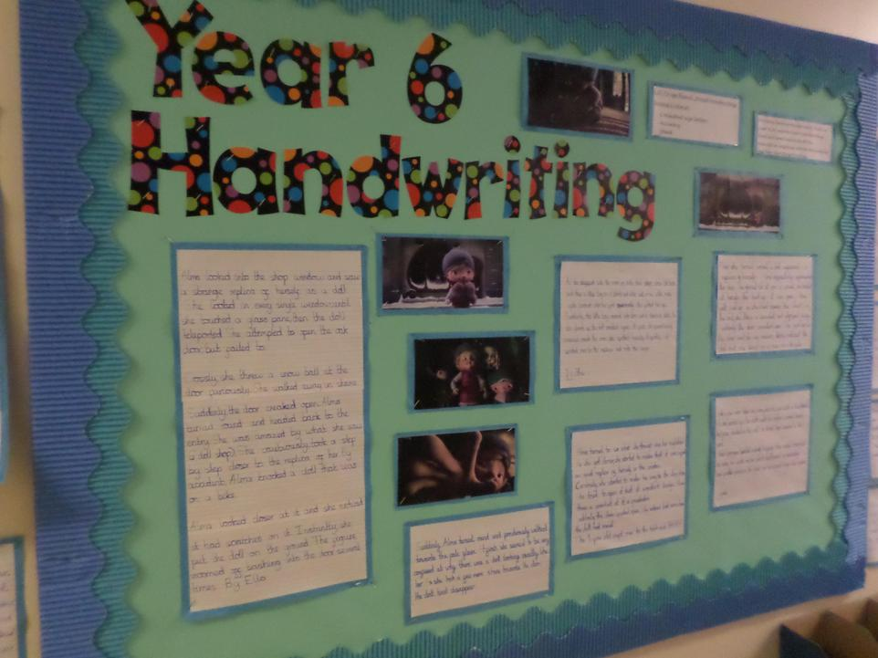 6  Sycamore's fantastic Alma inspired handwriting