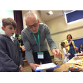 Paul Hollywood takes judging lessons from Aiden!