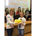Well done cake winner!