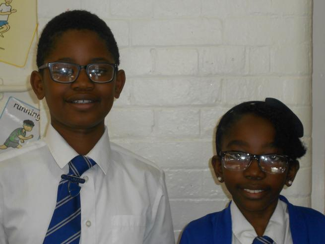 Deputy Head boy & girl  - Ayelka & Malaika