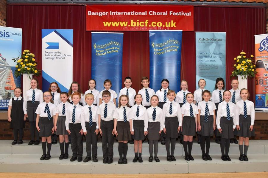 Throwback to our brilliant choir at the Bangor festival last time it was held!