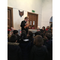 We learnt all about a Christian baptism...