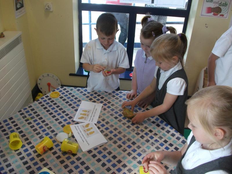 Making and naming model chicks