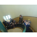 Mrs Coopers gorgeous group on the stairs