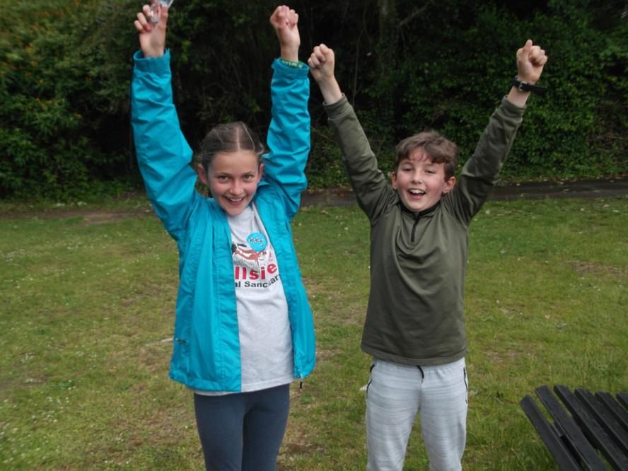 Orienteering competition...winners!