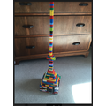 An enormous Lego tower from Annabel in Badgers