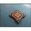 Alex has made a mosaic as part of topic work.
