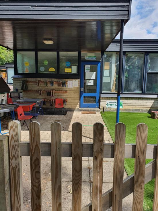 Robin Class Outdoor area
