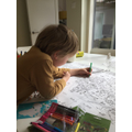 Giant Colouring Map