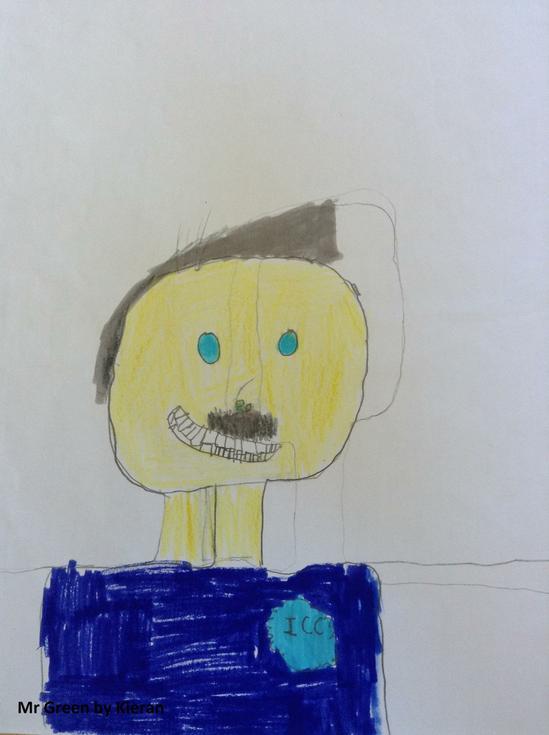 Mr Green by Kieran