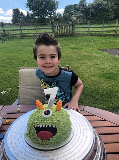 Joshua had a birthday on Saturday.