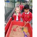 Number recognition in the sand