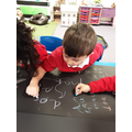 Amazing letter formation, well done!