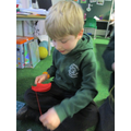 We learnt to sew!