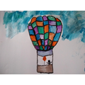 Isobel's watercolour art