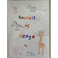 Jake's African animals booklet