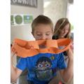 Jack's 'ee' paper chain