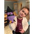 Eden's witch puppet