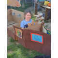 Thea's pirate ship