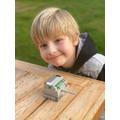 a Lego safe