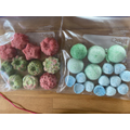 Garrett's bath bombs