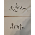 Mountains drawings