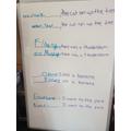 Abigail's sentence starters
