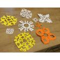 Ben's snowflakes