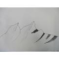 Mountain scene (bubbles)
