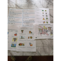 Alfie's home learning