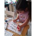 Alice's spelling practice