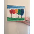 Owen's beautiful painting