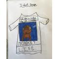 Max's T-shirt design