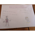 Alfie's Maasai tribe writing