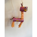 Bella's toilet roll giraffe