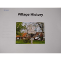 Isobel created a fabulous history of Hockham