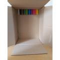 Before - Grace's crayon box