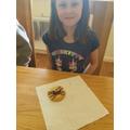 Abigail's spider cookie