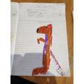 Abigail's meerkat story plan