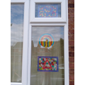 Charlotte and Isobel's stained glass windows